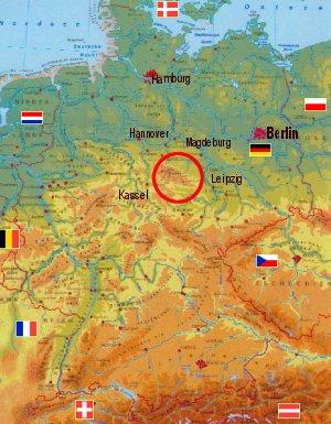 Der Harz Lage Geologie